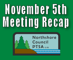 November 5th Meeting Recap