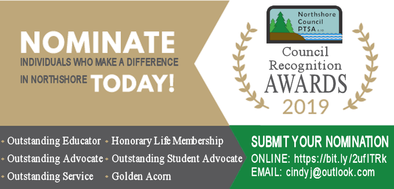 Nominate individuals who make a difference in Northshore today!