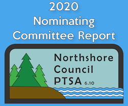 2020 Nominating Committee Report Northshore Council PTSA, 6.10