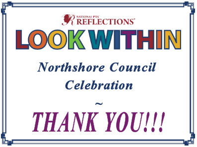 Look Within Reflections Celebration Thank You graphic