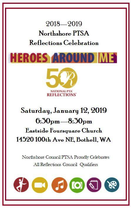 2018-2019 Northshore PTSA Reflections Celebration - Heroes Around Me