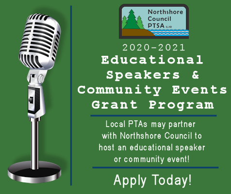 Image: 2020-2021 Educational Speakers & Community Events Grant Program - Apply Today!